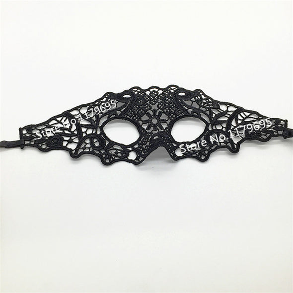 Sexy Women Black Lace Mask Masquerade Costume Party Masks Cosplay - Cosplay Infinity