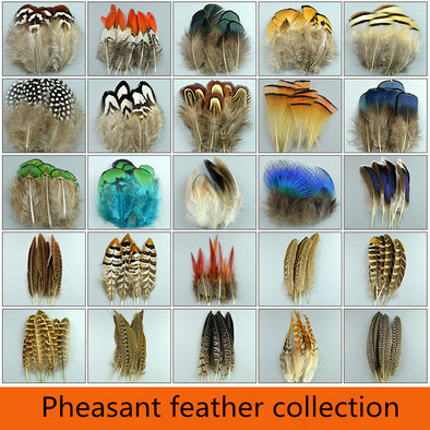 New 20pcs High Quality Beautiful Natural Feathers Pheasant Plume Diy Jewelry Cosplay Wings Heddress