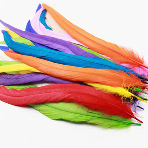 "New! High Quality 10pcs Rooster Feathers 12-14""/30-35CM Cosplay Costume Wings Headdress"