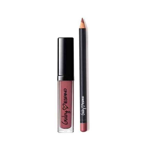 liar lipstick and cameo lip liner gaby espino kit