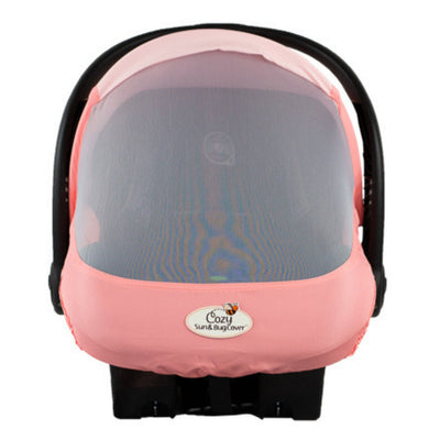 Cozy Cover Sun & Bug Cover - The Industry Leading Infant Carrier Cover Trusted By Over 2 Million Moms Worldwide For Protecting Your Baby From Mosquitos, Insects and the Sun