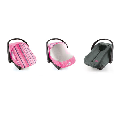 Cozy Cover Combo Pack Infant Car Seat Carrier Cover