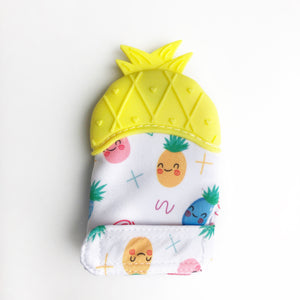 Pineapple Teething Sensory Mitten