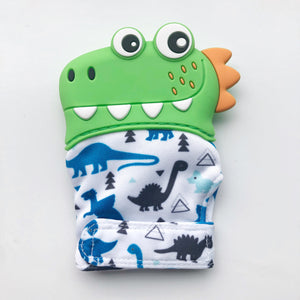 Crocodile Teething Sensory Mitten