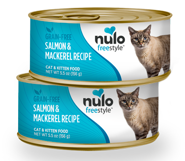 Nulo FreeStyle Grain Free Salmon and Mackerel Recipe Canned Cat Food