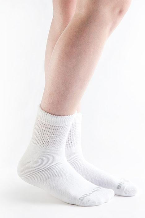 Doc Ortho Ultra Fit Diabetic 1/4 Crew Socks, 3 pairs