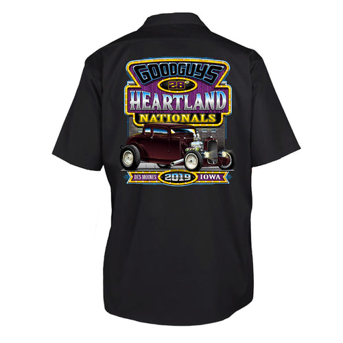 2019 Heartland Nationals Event Exclusive Garage Shirt