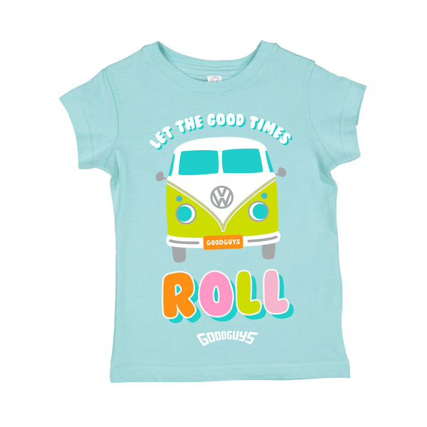 LET THE GOOD TIMES ROLL TODDLER T-SHIRT-Youth Tees-Shop Goodguys