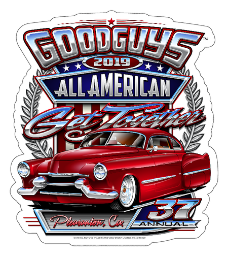 2019 DEL MAR STICKER