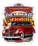 2019 DEL MAR STICKER-Novelties-Shop Goodguys