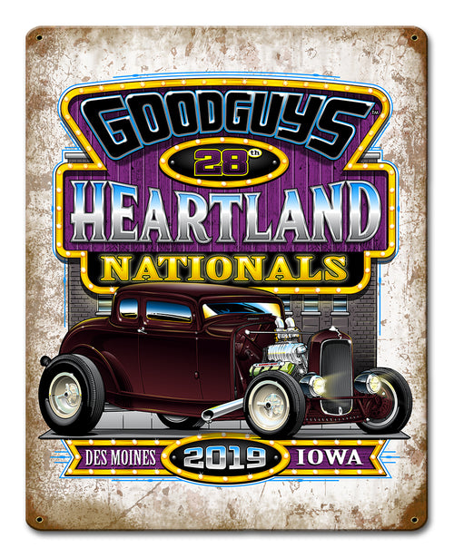 2019 Heartland Nationals Tin Wall Art