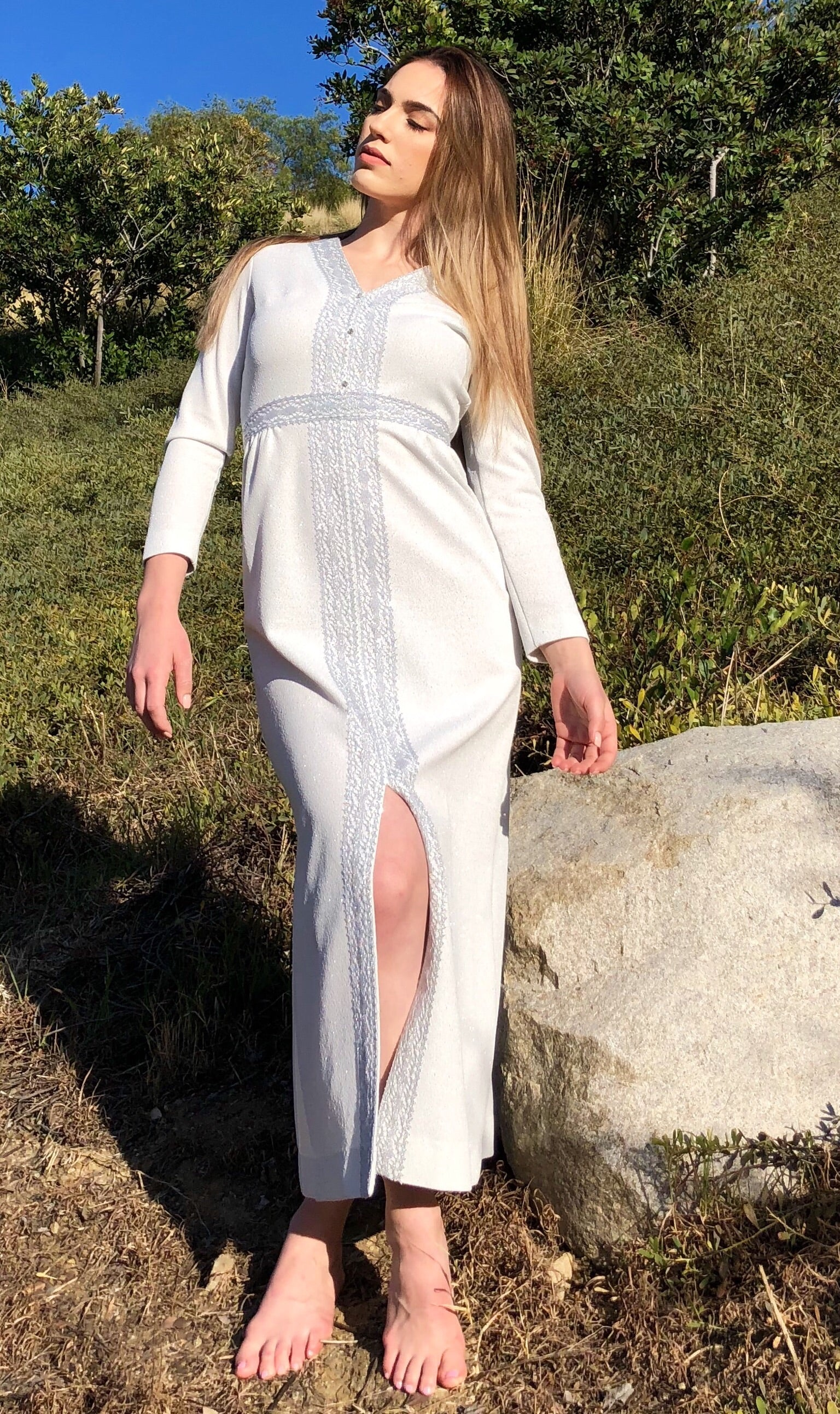 1960's Shady Lane Maxi Dress