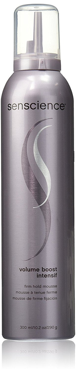 Senscience-Volume Boost Intensif Firm Hold Mousse 10.2oz