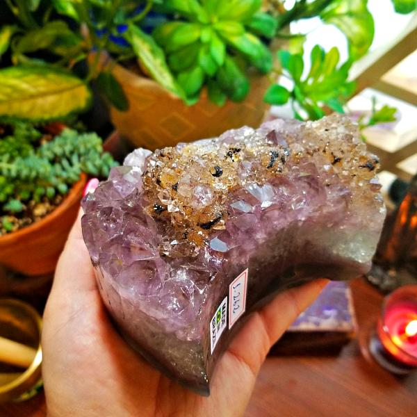 Large Smokey Amethyst Sphere