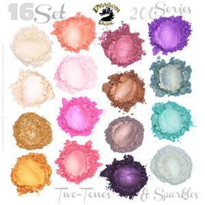 Two-Tones & Sparkles 200 Series 16 Shade Set