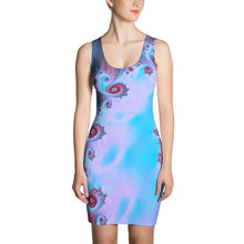 Blue Snail, by Amanda Martinson, Fitted Dress