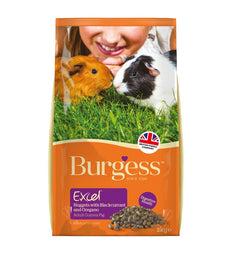 Burgess Excel Tasty Nuggets With Blackcurrant & Oregano For Guinea Pigs 2kg