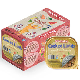'FREE TREATS': Underdog Cooked Lamb Complete & Balanced Frozen Dog Food 1.2kg