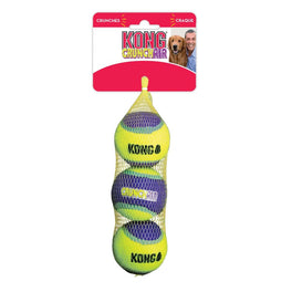 KONG CrunchAir Balls Dog Toy Medium