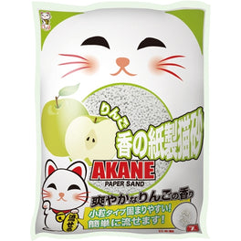 2 FOR $22: Akane Apple Paper Cat Litter 7L