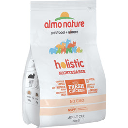 Almo Nature Holistic Adult Chicken and Rice Dry Cat Food 2kg