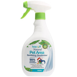 Bacoff Natural Pet Area Sanitising Deodorizer 500ml