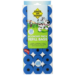 $5 OFF: Bags On Board Blue Waste Bag Refill Economy Pack 315ct