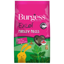 Burgess Excel Parsley Pieces Small Animal Treats 80g