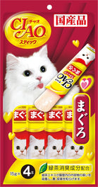 10% OFF: Ciao Stick Maguro Tuna In Jelly Cat Treat 60g (Exp 7 Sep 19)