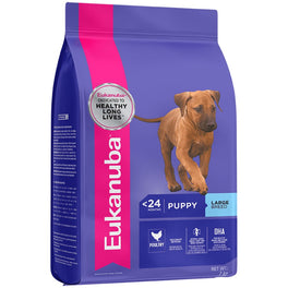 Eukanuba Puppy Large Breed Chicken Dry Dog Food