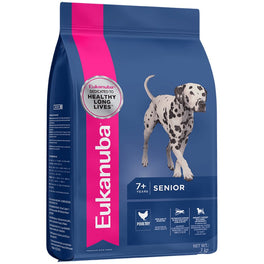 'FREE TREATS': Eukanuba Senior Medium Breed Chicken Dry Dog Food
