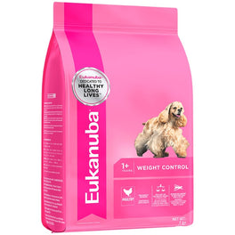 Eukanuba Adult Weight Control Small & Medium Breed Chicken Dry Dog Food