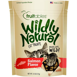 25% OFF: Fruitables Wildly Natural Salmon Cat Treats 2.5oz