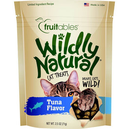 25% OFF: Fruitables Wildly Natural Tuna Cat Treats 2.5oz