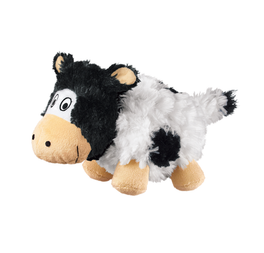 KONG Barnyard Chruncheez Cow Dog Toy Small