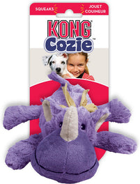 Kong Cozie Rosie The Rhino Small Dog Toy