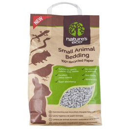 2 for $42.80: Nature's Eco Recycled Paper Small Animal Bedding 30L