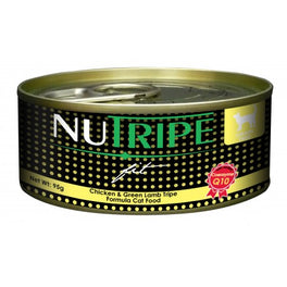 40% OFF: Nutripe Fit Chicken & Green Lamb Tripe Canned Cat Food 95g