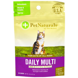 Pet Naturals of Vermont Daily Multi For Cats (30 Chews)