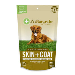 10% OFF: Pet Naturals of Vermont Skin + Coat for Dogs, 30 Chews