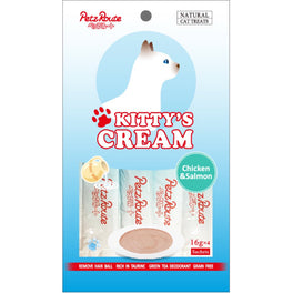 3 FOR $10: Petz Route Kitty's Cream Chicken & Salmon Cat Treats 64g