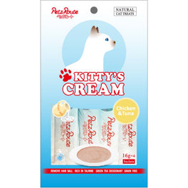 3 FOR $10: Petz Route Kitty's Cream Chicken & Tuna Cat Treats 64g