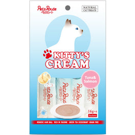 3 FOR $10: Petz Route Kitty's Cream Tuna & Salmon Cat Treats 64g