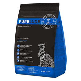 40% OFF 3.3lb (Exp Oct 19): PureLuxe Grain Free Holistic Elite Nutrition for Finicky Cats Dry Cat Food