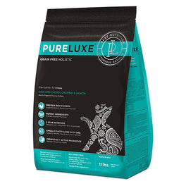 PureLuxe Grain Free Holistic Elite Nutrition for Kittens Dry Cat Food
