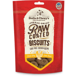 $5 OFF : Stella & Chewy's Raw Coated Biscuits Chicken Dog Treats 9oz (Exp 30 Sep 19)