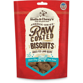 $5 OFF: Stella & Chewy's Raw Coated Biscuits Lamb Dog Treats 9oz (Exp 30 Sep 19)