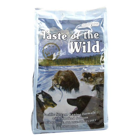 'FREE FOOD' + 40% OFF: Taste of the Wild Pacific Stream with Smoked Salmon Grain Free Dry Dog Food