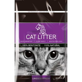Tiger Pet Lavender Fresh Clumping Cat Litter 10L