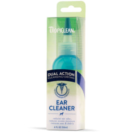 Tropiclean Dual Action Ear Cleaner For Pets 4oz